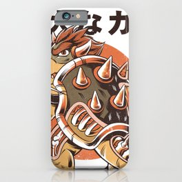 Bowserzilla iPhone Case