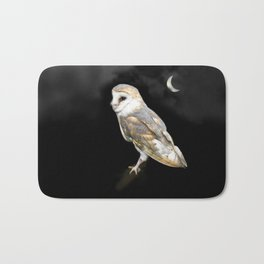 The Owl and the Moon Bath Mat