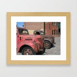 Distillery District Framed Art Print