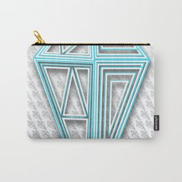 Diamonstract Series - 02p - Pattern Print Carry-All Pouch