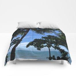 Queensland Australia beach Comforters