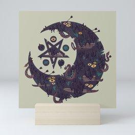 The Dark Moon Compels You to Fuck Shit Up Mini Art Print