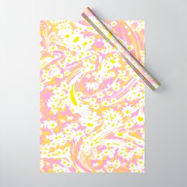 MarbleDaisyFields Wrapping Paper