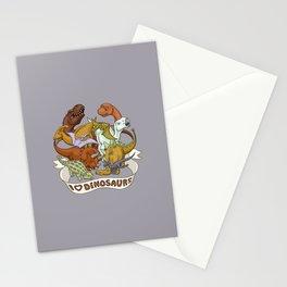 I Heart Dinosaurs Stationery Cards