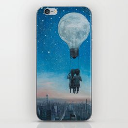 Our Love Will Light The Night iPhone Skin
