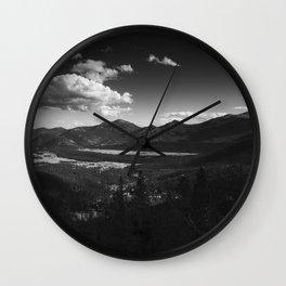 Rocky Mountain Valley Wall Clock