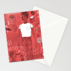 Diving into a trance Stationery Cards