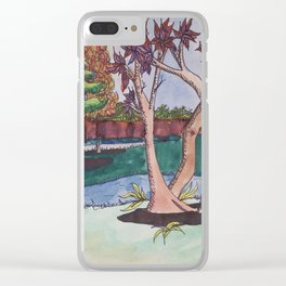 Oak Park Clear iPhone Case