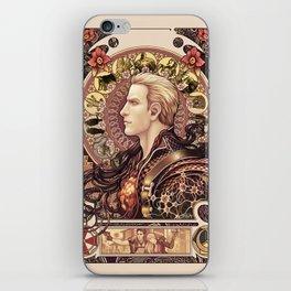 Biohazard Zodiac iPhone Skin