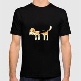 Cute Beagle Dog &joy Doodle T-shirt