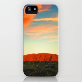 The Red Heart of the Earth iPhone Case