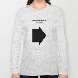 starting point Long Sleeve T-shirt