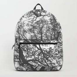 Grey Trees Abstract Backpack