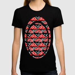 Kowhaiwhai Traditional Maori Koru Pattern T-shirt