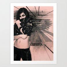 Angel Eyes Art Print