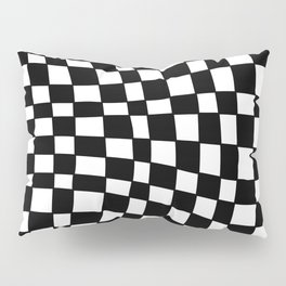 Black and White Distortion Pillow Sham