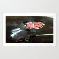 miles davis Art Prints featuring Miles Davis / Kind of Blue by Zane Hall