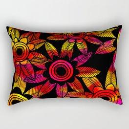 Big Floral 1 Rectangular Pillow