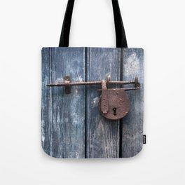 Padlock III Tote Bag