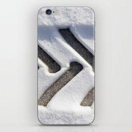 track of one wheel iPhone Skin