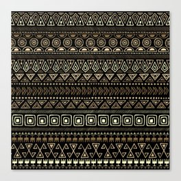 Ethnic tribal Pattern Canvas Print
