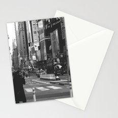 Let my imagination go (B&W) Stationery Cards