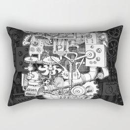 Hungry Gears Rectangular Pillow