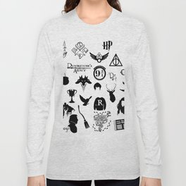 potter's head Long Sleeve T-shirt