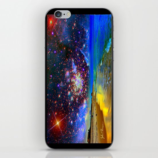 Starry Beach iPhone & iPod Skin