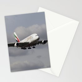 Emirates A380 Airbus Stationery Cards