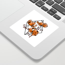 Tigerlily Sticker