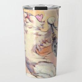 Hanami cat Travel Mug