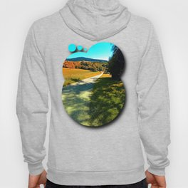 A long road into summertime Hoody