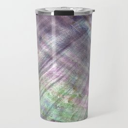 Mother of pearl in a sea shell Travel Mug
