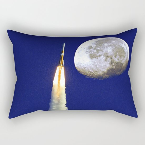 Come Fly With Me Rectangular Pillow