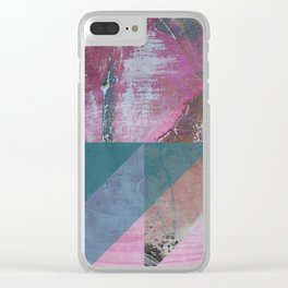 Painting Art Tierra IV Clear iPhone Case