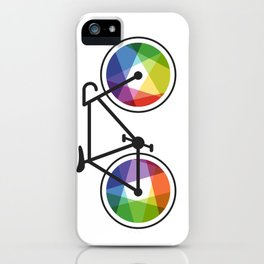 Geometric Bicycle iPhone Case