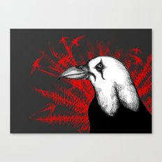 The Crow Crow Canvas Print