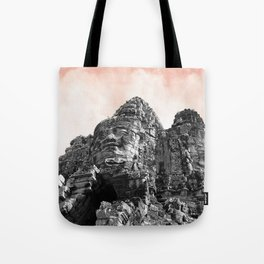 Part of Angkor Wat with candy Tote Bag