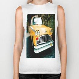 Yellow Cab (2) Biker Tank