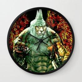 RhinoTiger 2 Wall Clock