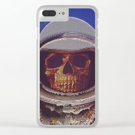 At A Certain Distance In space Or Time Clear iPhone Case