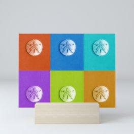 Sand Dollars - multicolor! Mini Art Print