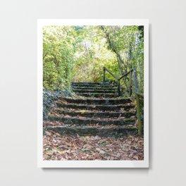 Stairways Metal Print