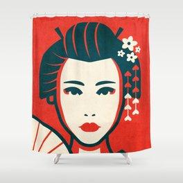 Geishas/Maikos of Kyoto Shower Curtain