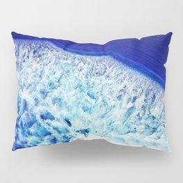 Gemstone Crystal Geode Pillow Sham