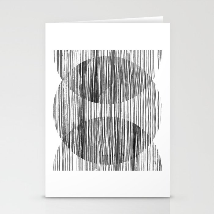 Monastery Striped Circles Stationery Cards