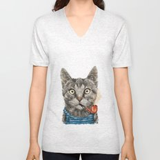 Sailor Cat IX Unisex V-Neck