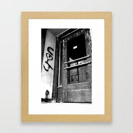 Christine & Josh Framed Art Print