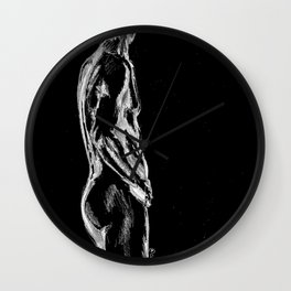 View from the top Wall Clock